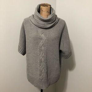{Willi Smith} Cable Cowl Neck Sweater